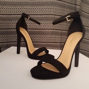 Shoe Dazzle black stiletto sandal